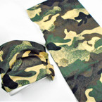 Multifunction Face Mask Scarf Reg. Camo  Print  (74359) 10 per pk .75 each
