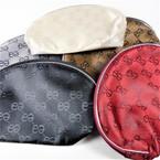 """5"""" X 8"""" Designer Look Print Zipper All Purpose Bag Asst Colors .65 ea"""