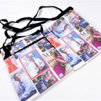 "5"" X 7"" Zipper bag w/ Strap Obama Family Theme   .62 each"