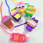 "3"" Sweet Treats Theme Scented Hand Santizers 12 per pk (80)@ .65 each"