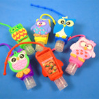 Wise Owl Theme  Scented Hand Santizers 12 per pk @ .65 each
