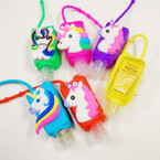 Unicorn Theme Fruit Scented Hand Santizers 12 per pk @ .65 each