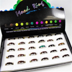 SPECIAL Changing Color Mood Band Rings 36 per display ONLY  .39 each