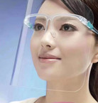 IN STOCK  Protective Face Shields w/ Glasses  40 sets per pk   $ 1.60 per set