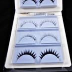3 Pair Fashion Eye Lashes w/ Glue as shown (203)  .58 per set