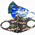 Neoprene Face Masks Washable & Reusable  Camouflage Theme 50 pk  $ 1.25  each