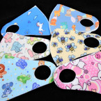 2 Layer KIDS Face Masks Washable & Reusable 6 Styles per pk  $ .45 each
