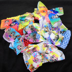 "2.5"" Stretch Crochet Headbands w/ 3"" Cutie Girl Bow .56 ea"