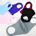 Fashion Face Masks Washable & Reusable Solids Fall Color Mix $1.00 each