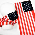 Multifunction Face Mask Scarf USA Flag  (60052FG) 12 per pk .75 each