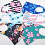 6 Style Mixed Hawaiian Print Face Masks  Washable & Reusable 12  per pk  $.50 ea