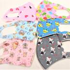 6 StylesKIDS Face Masks Washable & Reusable w/ Mixes Prints  .75  each