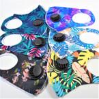 Colorful Leaf Theme Face Masks w/ Vent Washable & Reusable 12  per pk  $1.25 ea