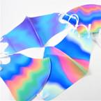 Wavy Tye Dye  Effect Adjustable Protective Face Mask  12 per pk $ .65 each