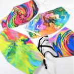 12 Spin Art Look Adj Face Mask  plus 50 Blue Disp. Mask  $ 9.95