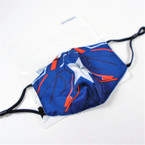 Boy's Super Hero  Theme 2 Layer w/ Filter Pocket  Adjustable Protective Face Mask  12 per pk $ .83 each