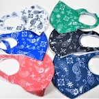 SPECIAL Fashion Face Masks Washable & Reusable 6 Color Bandana Print  $..50  each