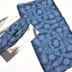 Carded Multifunctional Scarf/Headwear/ Mask  Navy Blue Bandana Print   .66  each