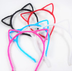 Trendy  Cat Ear Headbands Faux Fur Asst Colors  .56 each