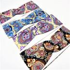 "3"" New Age Fashion  Print Stretch Headbands  12 per pk   .58 each"