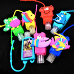Fruit Scented  Pocket Size Hand Sanitizer FISH Theme  12 per pk .60  ea