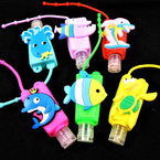 Fruit Scented  Pocket Size Hand Sanitizer Under the Sea Theme  12 per pk .65  ea