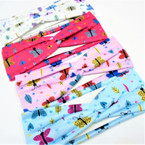"2.5"" X 7""  Kid's Fashion Stretch Headbands Butterfly Theme .54 each"