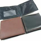Black & Brown Mens Wallets Bi Fold Style .56 each
