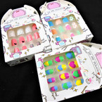 Kid's Cute Fashion Press On Nail Set  (304)  .50 per set