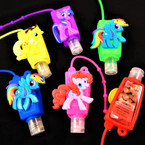"3"" Cute PONY  Theme Scented Hand Santizers 12 per pk .60 each"