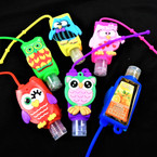 Wise Owl Theme  Scented Hand Santizers 12 per pk @ .60 ea