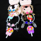 KID'S Lollypop Charm Theme Spring Style Fashion Bracelets Silver/Gold .56 each