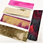 "NEW 3"" Darker Tye Dye Mix  Headband  w/ Elastic Back   .56 each"