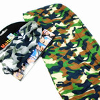 Carded Multifunctional Scarf/Headwear/ Mask 2 Color Camo Mix    .66  ea