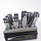 "3"" Bling Style Glitter Nail Clippers  12 per display .54 each"