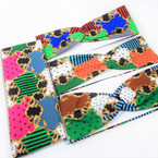 "3"" Wide Mixed Fashion Print  Stretch Headbands (1256) 12 per pk .58 ea"