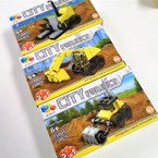 City Project DIY Construction Trucks  12 per display Mixed Styles .60 ea
