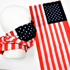 Multifunction Face Mask Scarf USA Flag  (BD187) 12 per pk .75 each