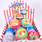 Fast Food Theme Light Up YoYo 12 per display bx .56 each