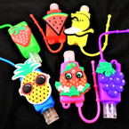 Fruit Scented  Pocket Size Hand Sanitizer Fun Fruit Theme  12 per pk .60  ea