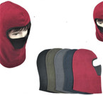 Fleece Pullover Ski Mask  Asst Colors w/ Mesh Mouth Cover $ 1.49 each