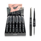 All Black Liquid Eyeliner & Pencil Combo 36 per display bx .75 each