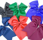 "6"" X 8"" Gator CLip Cheer Bows Fall Colors .54 each"