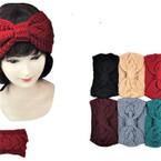 "5"" Wide Stretch Knit Winter Headbands Braid Look  6 colors 12 per pk $ 1.50 each"