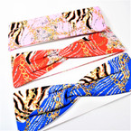 "3"" Popular Chain Theme Stretch Headbands Asst Colors (2002) 12 per pk  .58 each"