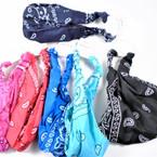 3 in 1 Headbands/MASK/Mask Cover w/  Elastic Back Bandana Prints .56  each