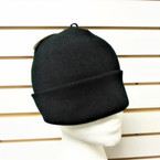 Upgraded Quality All Black Knit Winter Hats 12 per pk $ 1.00 ea