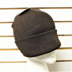 Upgraded Quality All Dark Brown  Knit Winter Hats 12 per pk $ 1.00 ea