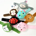 "9"" Fury  Slap Bracelet  w/ Animal Zipper Coin Purse  SO CUTE .60 each"