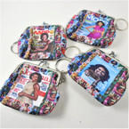 "3"" Obama Print Fashion Snap Closure Coin w/ Keychain  .58 each"